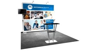 10x10 booth
