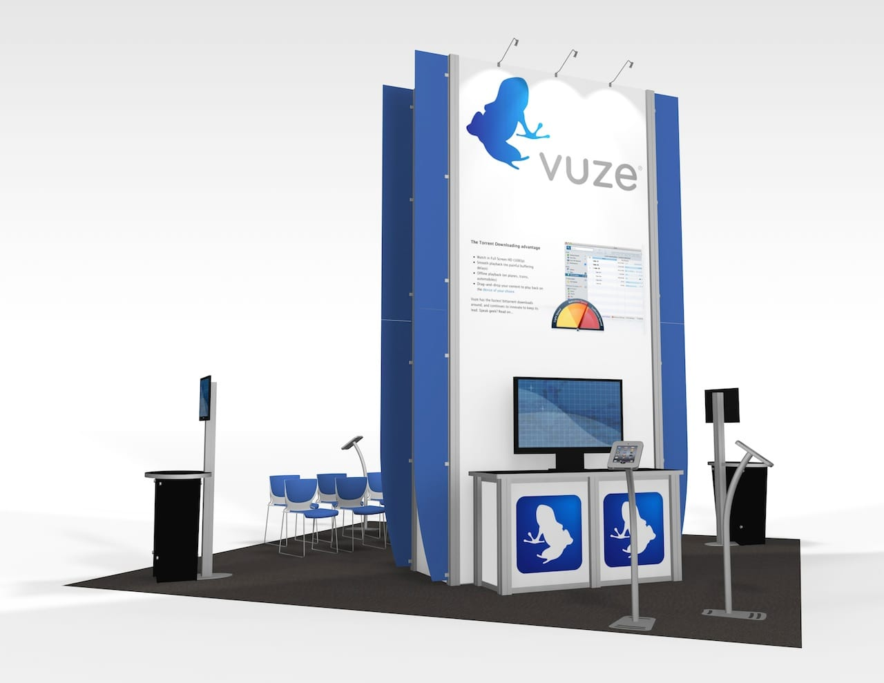 20x20 booth