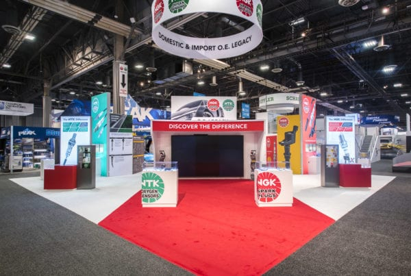 50×50 Custom Purchase at AAPEX – NGK Spark Plugs