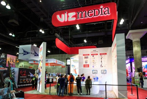 30×60 Custom Rental at Comic Con and Anime Expo – Viz Media