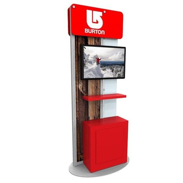 custom kiosk