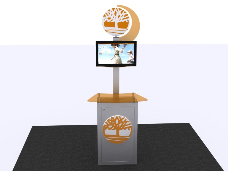 customized kiosk