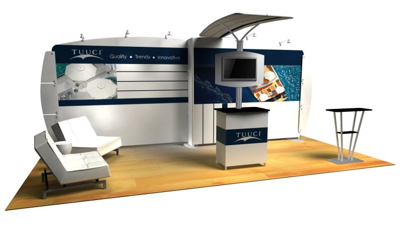 exhibit booth