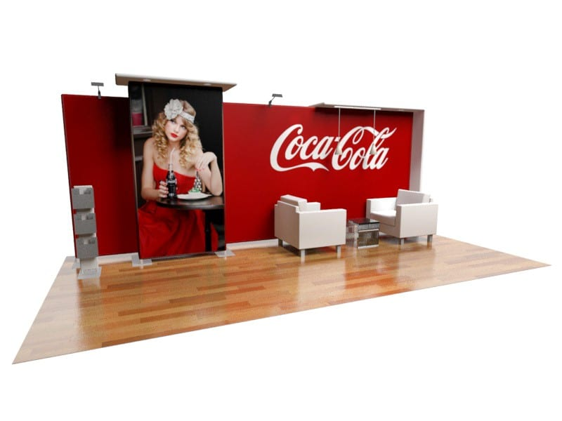 exhibition display shelves