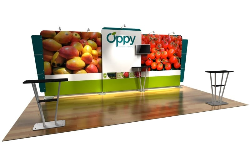 fabric display systems