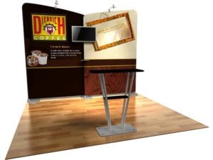 fabric trade show display