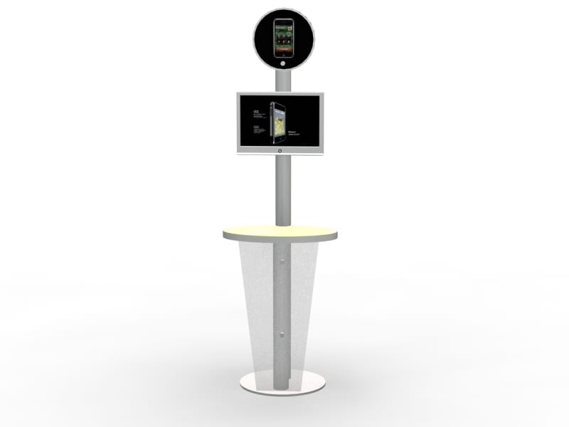 modular kiosk design