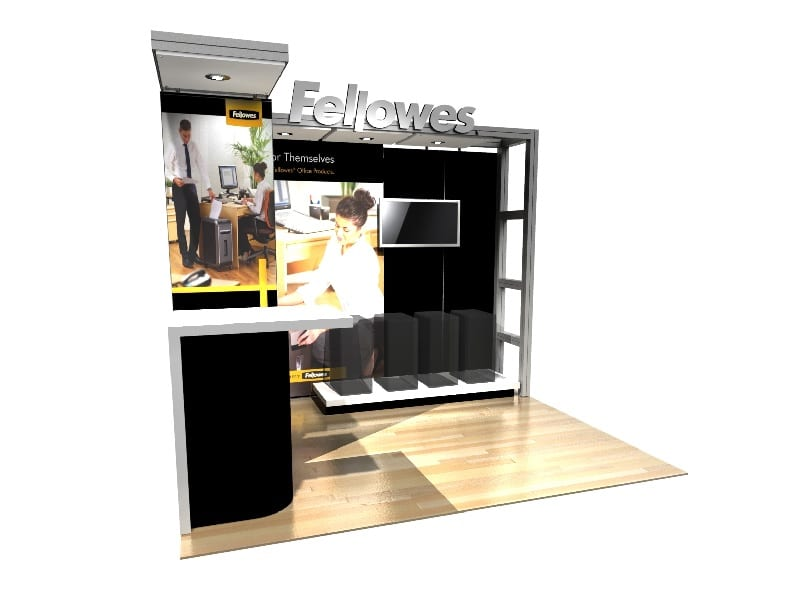 modular reusable exhibition stands