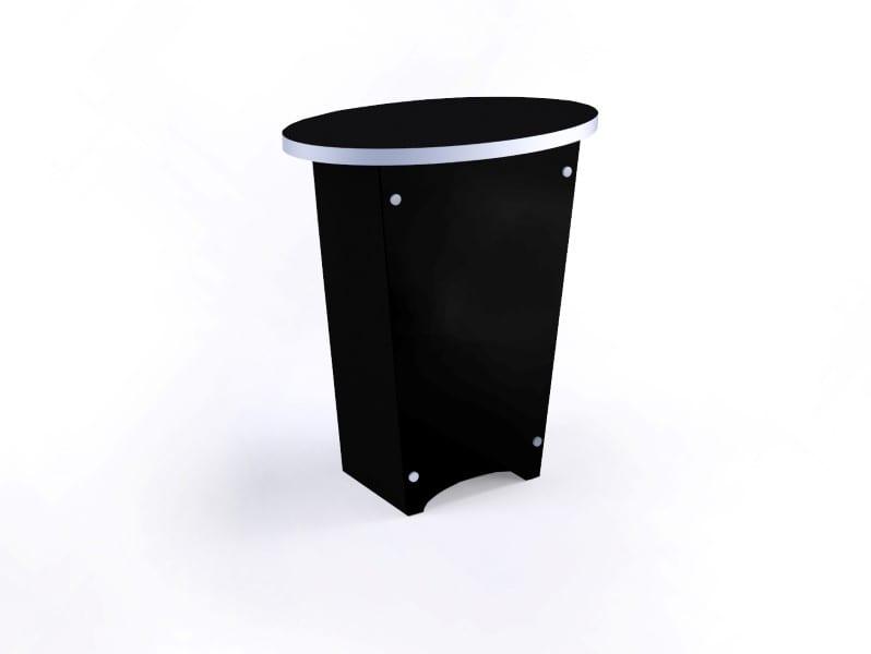 oval pedestal