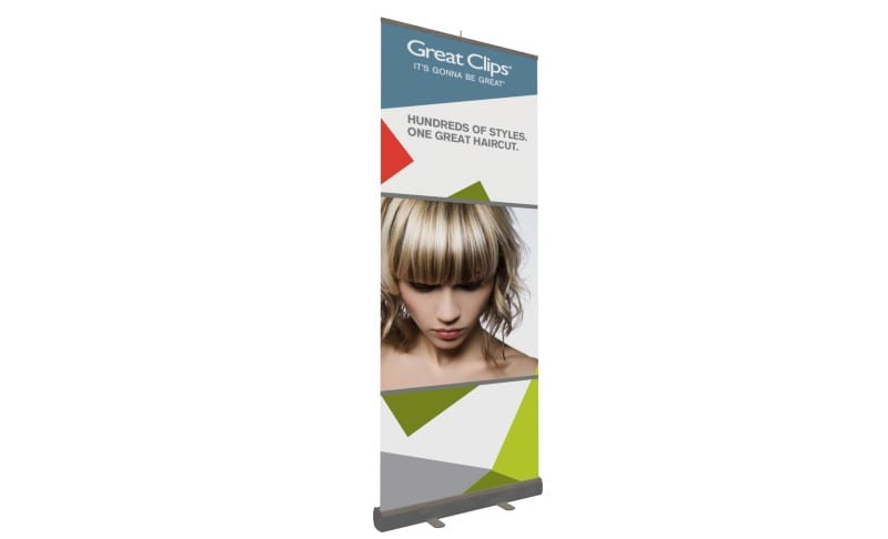 pop up display banner