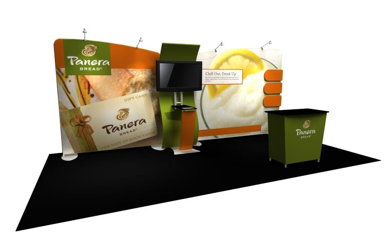 popup tradeshow display