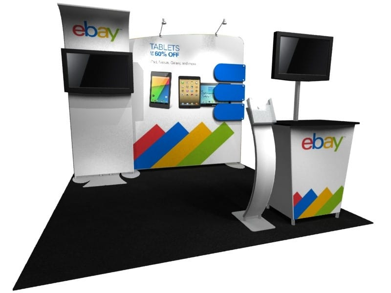 portable 10x10 trade show booth