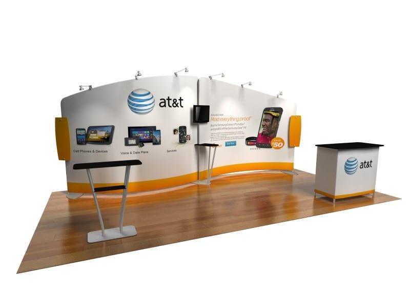 Portable Exhibition Booth Sia : Portable exhibit booth custom trade show displays evo