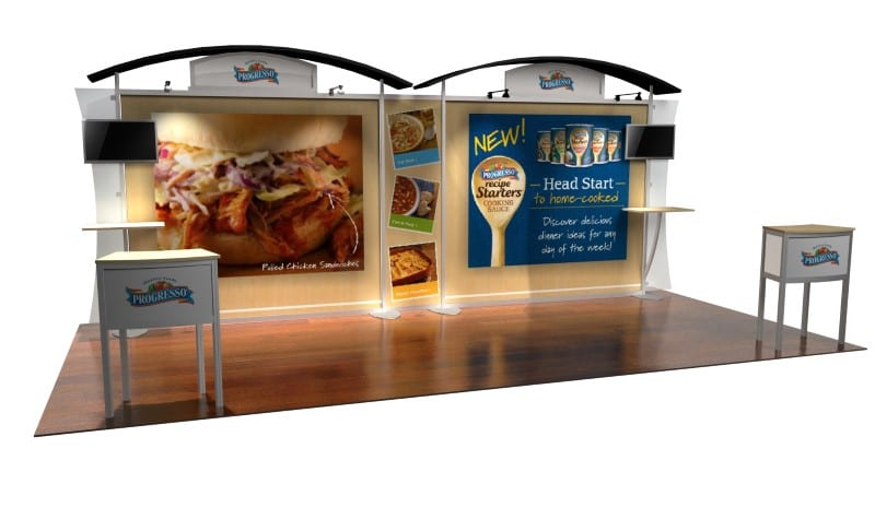 portable exhibit display