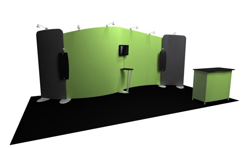 Portable Exhibition Booths : Portable exhibition booth custom trade show displays evo exhibits