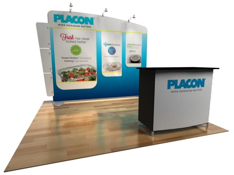 tension fabric display system