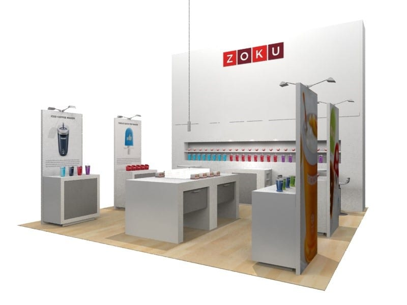 trade booth display