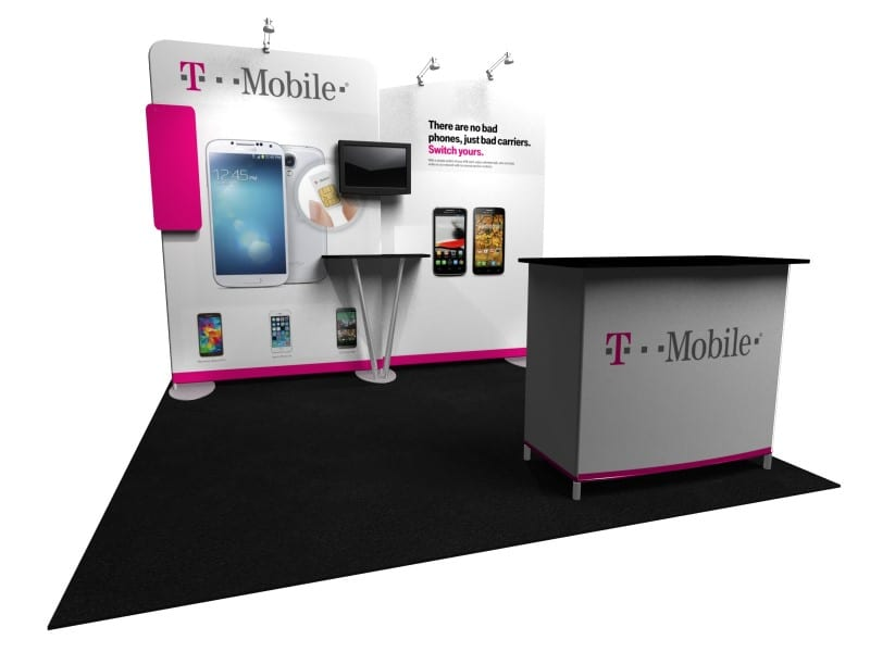 trade show tension fabric system