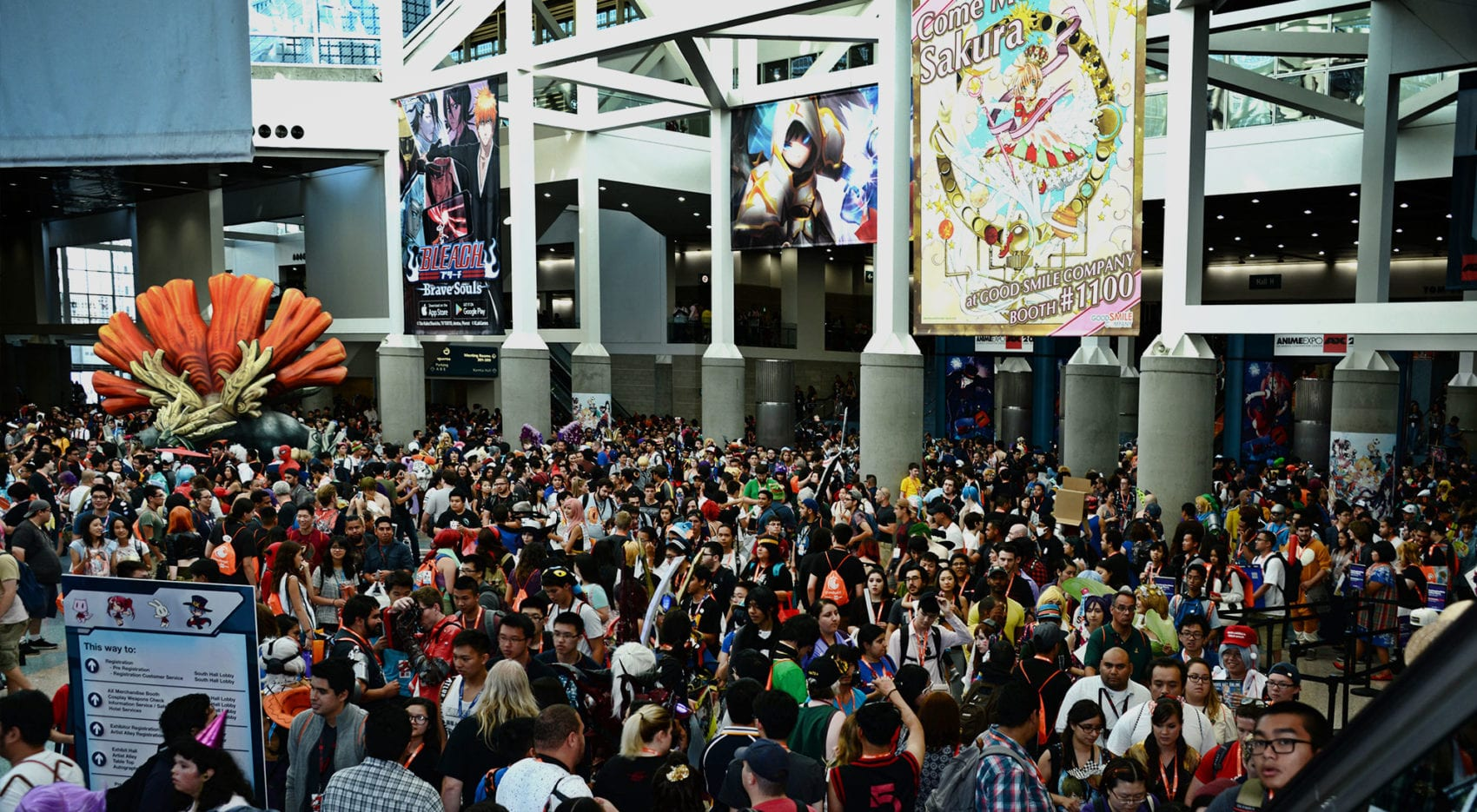 trade show exhibits for anime expo