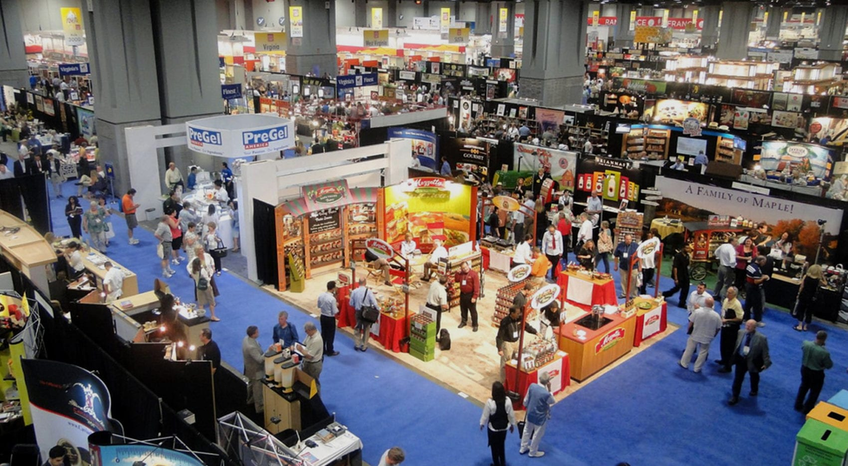 Trade Show Exhibits for Summer Fancy Food Show