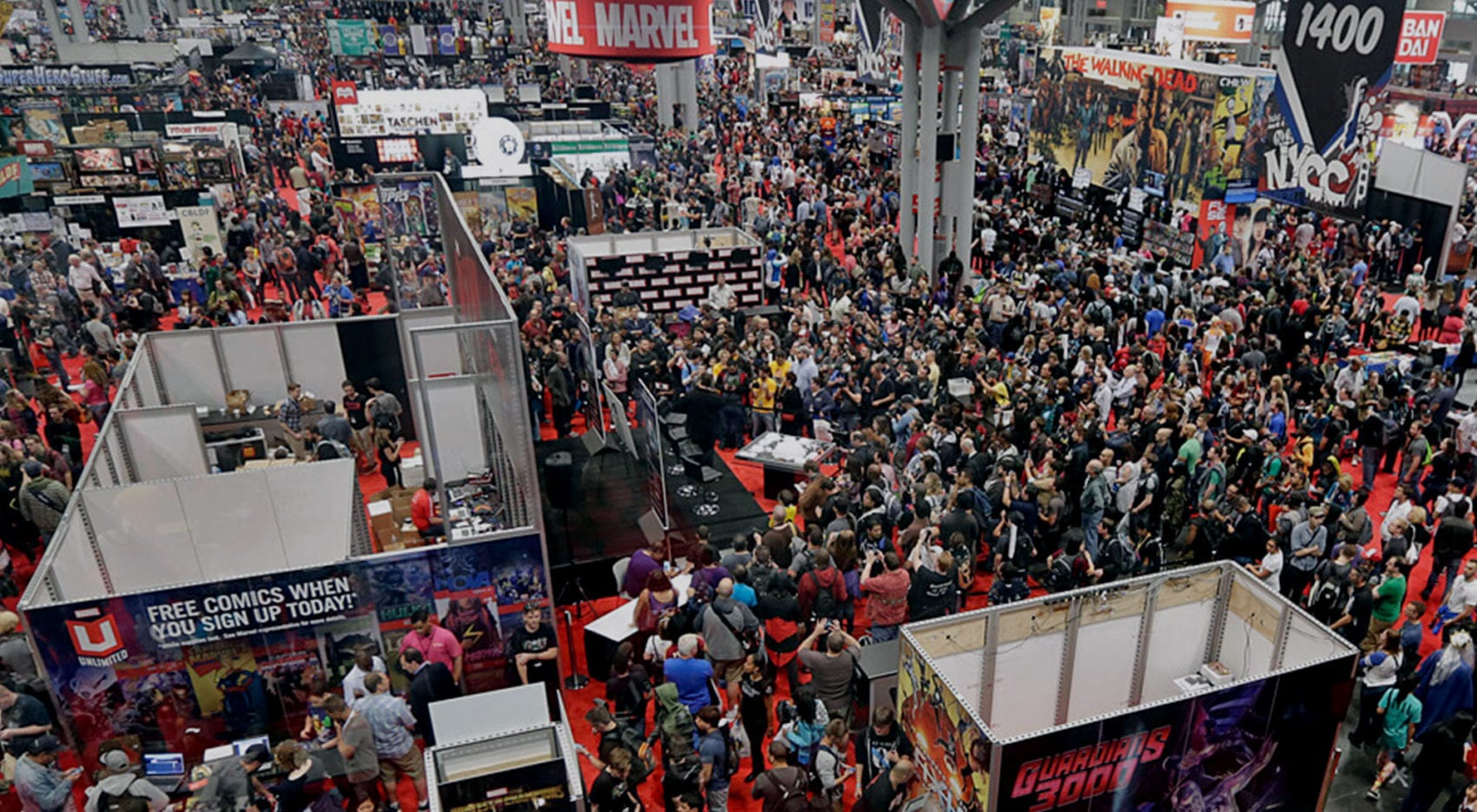 Trade Show Exhibits for Comic Con