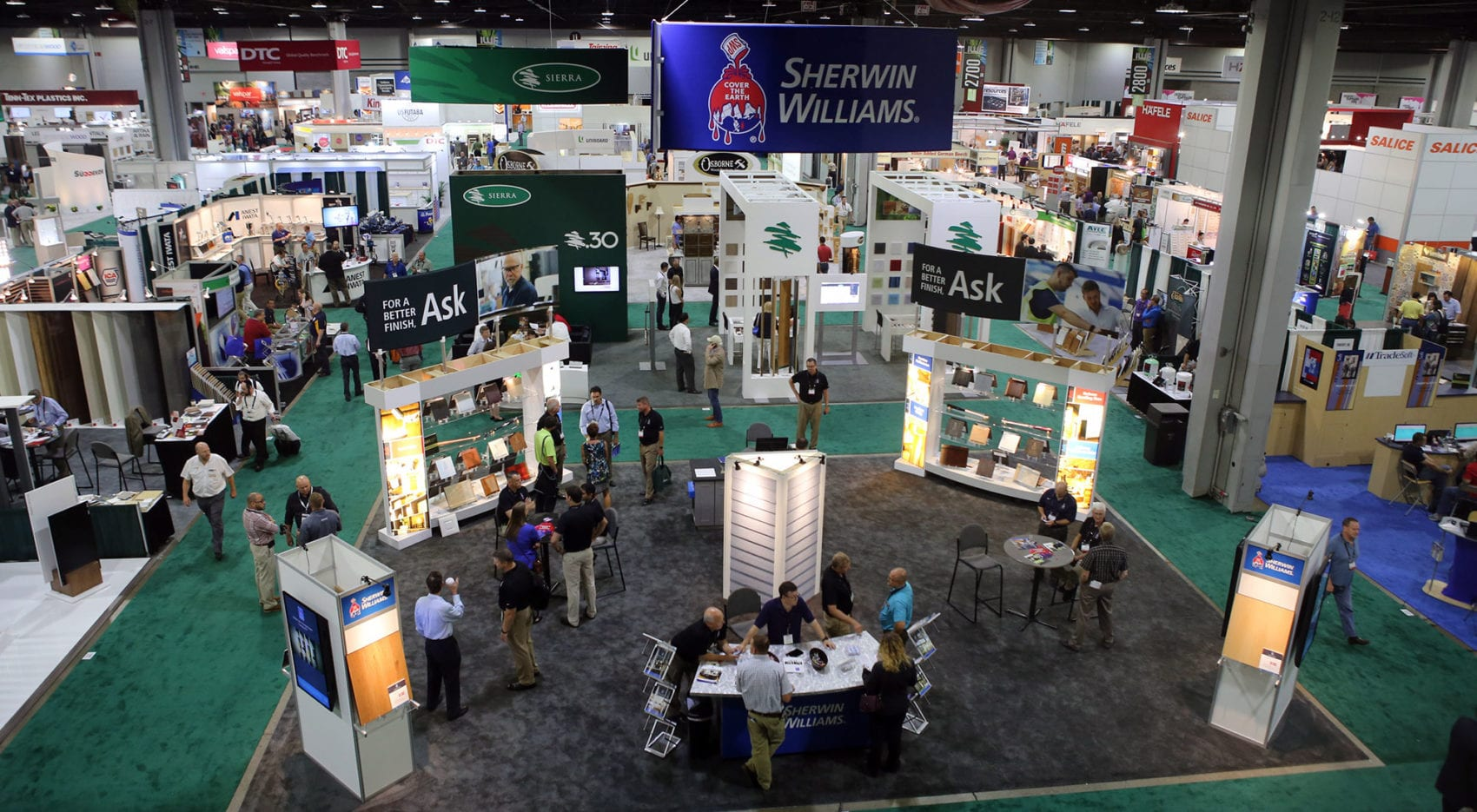 Trade Show Exhibits for IWF