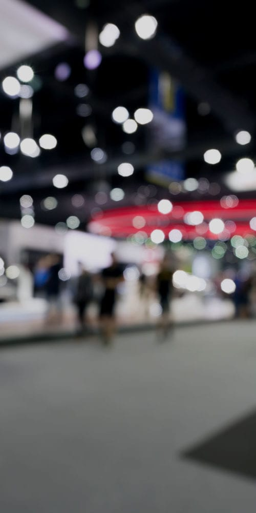 trade show exhibits for TRA marketplace