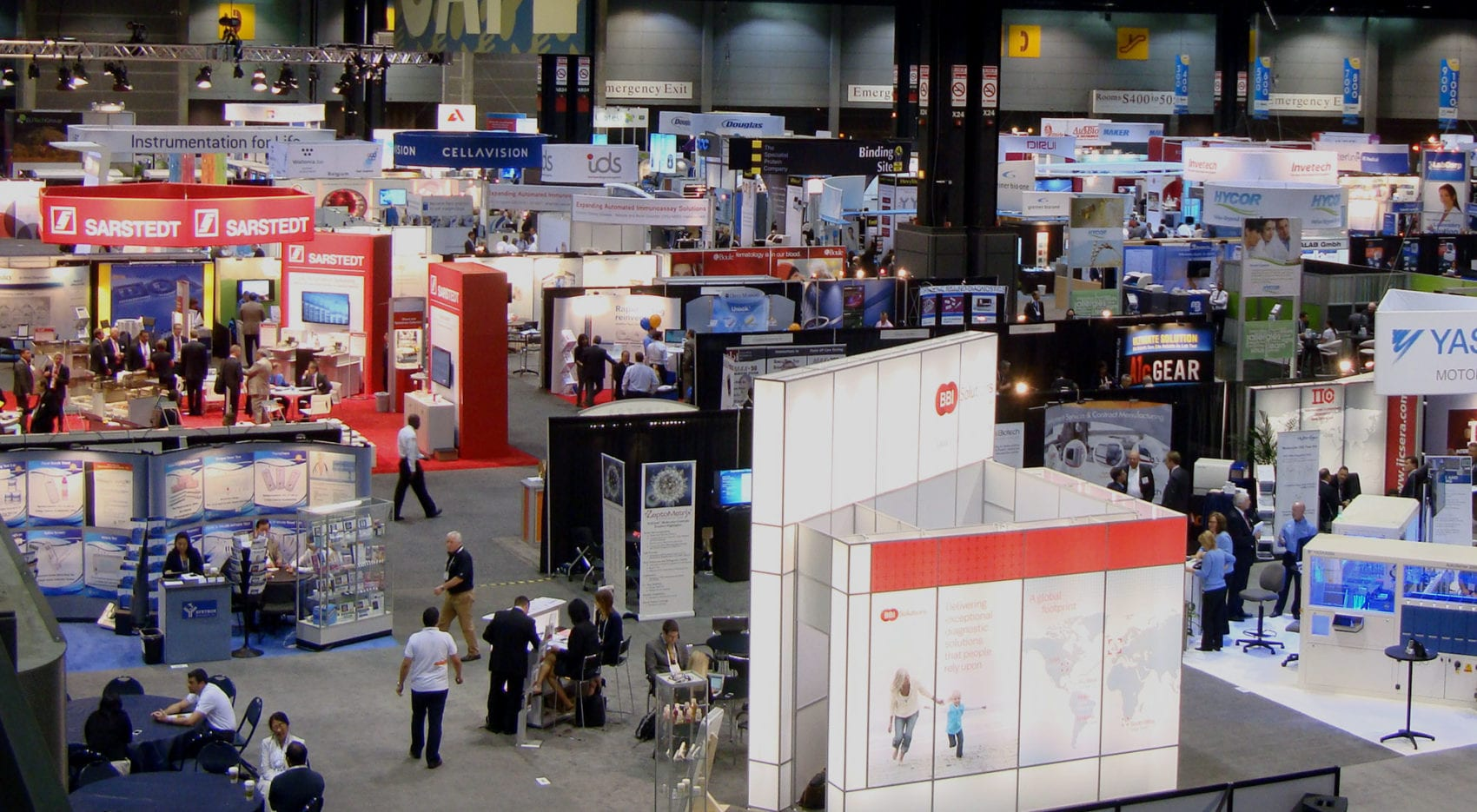 Trade Show Exhibits for AACC