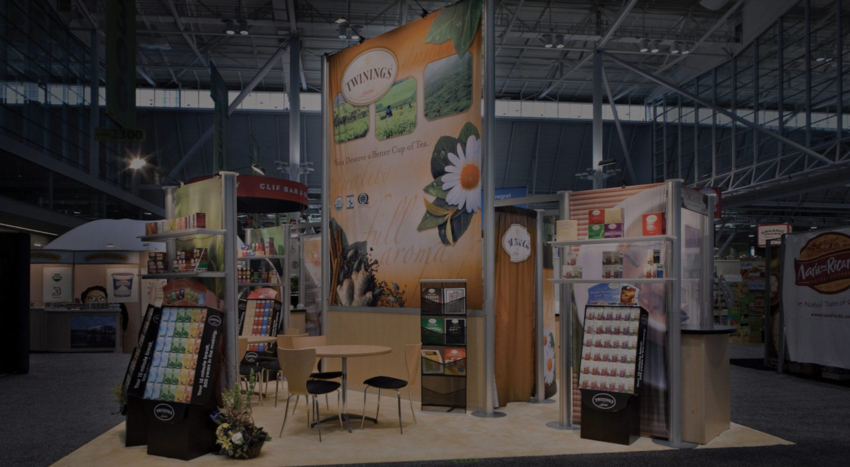 trade show exhibits for natural products expo