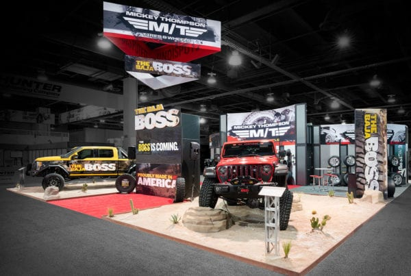 50×60 Custom Purchase at SEMA – Mickey Thompson Wheels and Tires