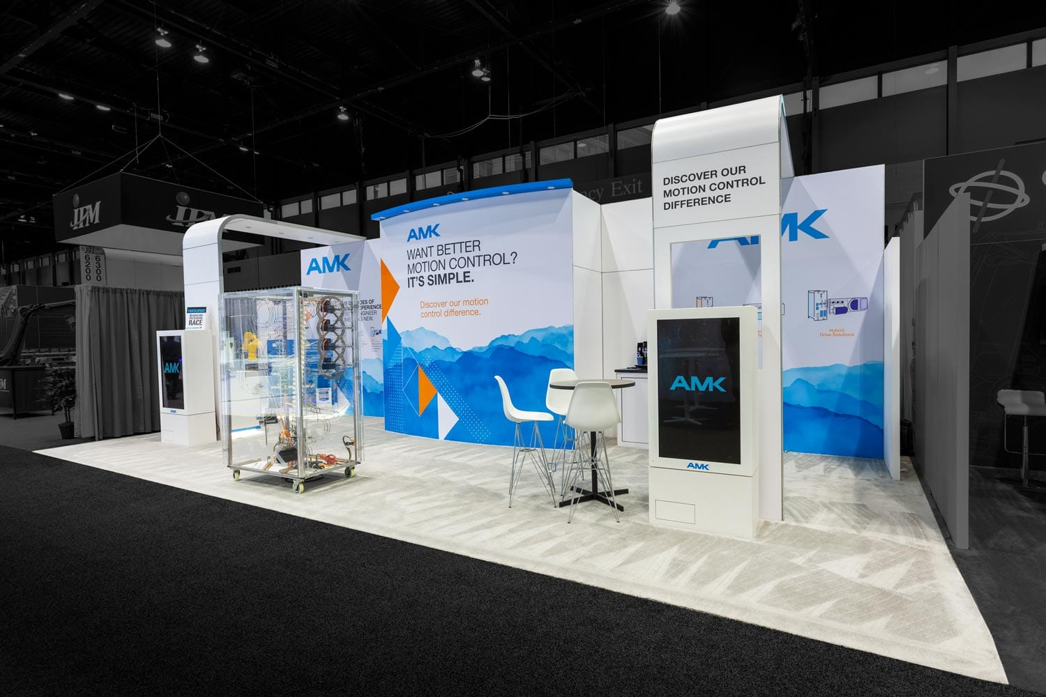 Evo Exhibits creates dynamic displays for Pack Expo