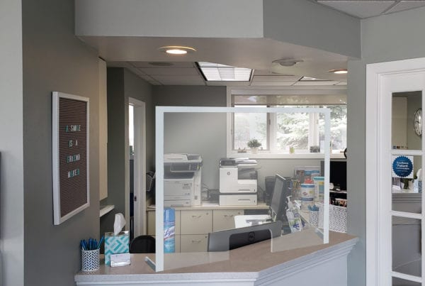 Reception Area Barriers