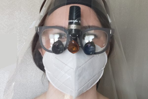 Face Shields For Dentists & Orthodontists
